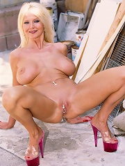 Busty Blonde Milfs Clit Jewelry Rattles As She Gets Her Cunt Banged!^over 40 Housewives Mature Porn Sex XXX Mature Mom Free Pics Picture Gallery
