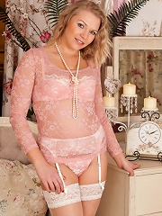 Classy Anilos Babe Shows Off Her Curves In Alluring Lingerie With Stockings And Heels^anilos Mature Porn Sex XXX Mature Matures Mom Moms Erotic Pics P