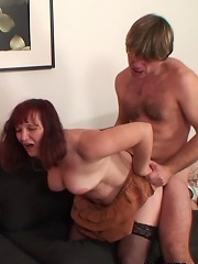 Mature Chick Is Fucked By Her Son In Law While Her Daughter Watches And Loves It^my Wifes Mom Mature Porn Sex XXX Mature Matures Mom Moms Erotic Pics