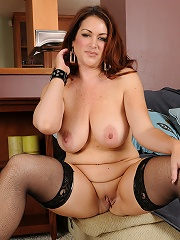 Busty Kitty S Slips Off Her Sexy Lingerie To Pose Her Hot Mature Body^all Over 30 Mature Porn Sex XXX Mature Mom Free Pics Picture Gallery