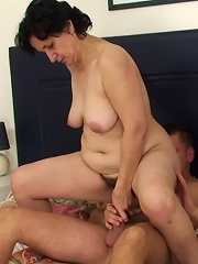 She Steps From The Shower To Find Her Son In Law Waiting To Pound Her Old Wrinkled Pussy^my Wifes Mom Mature Porn Sex XXX Mature Mom Free Pics Picture
