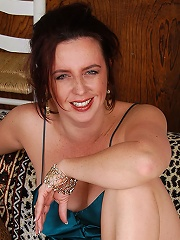 Brunette Milf In Sheer Blue Lingerie Poses For Us In Here^all Over 30 Mature Porn Sex XXX Mom Picture Pics