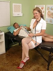 Hot Blonde Mature Nurse Takes Advantage Of Her Patient In Here^all Over 30 Mature Porn Sex XXX Mom Free Pics Picture Gallery